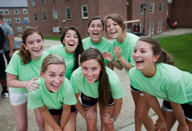 Lafayette College hosts six strong Inter/national women's sororities hosted in partnership.